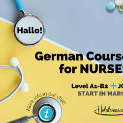 German Courses for Nurses | Start in March 2021